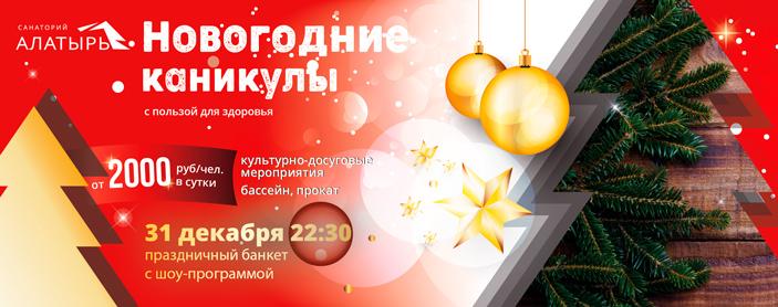 """Новогодние каникулы в """"Алатыре"""""""
